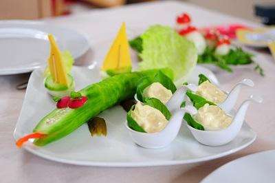 Caterings Las mejores entradas de frutas y verduras