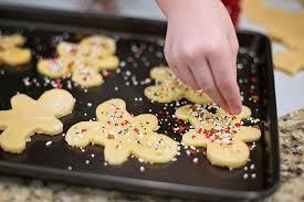 Galletas de mantequilla infantiles para navidad