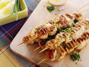 Cómo preparar un kebab de pescado