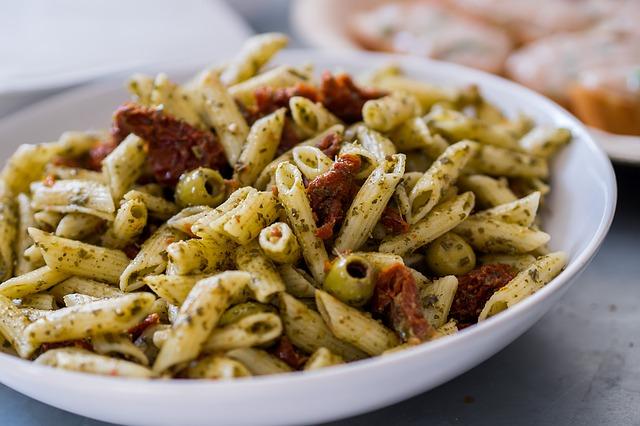 Recetas de ensalada de pasta con patata