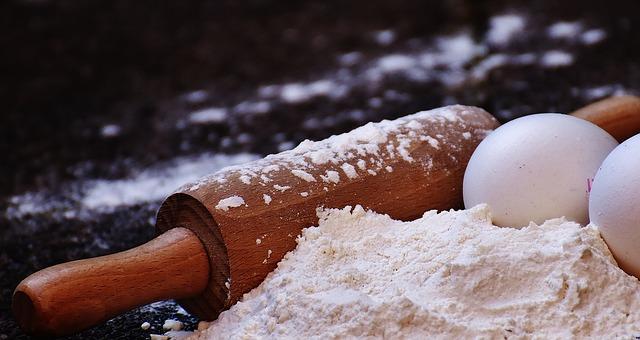 Pasta para las recetas de milhojas de champiñones