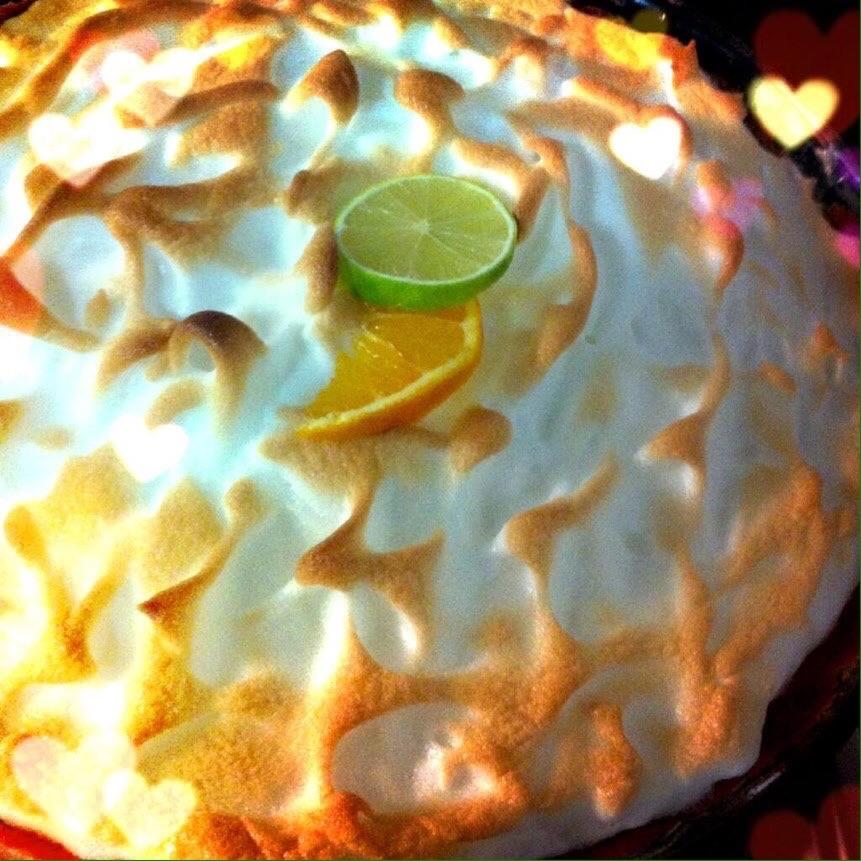 Tartaletas de limón y merengue- pie