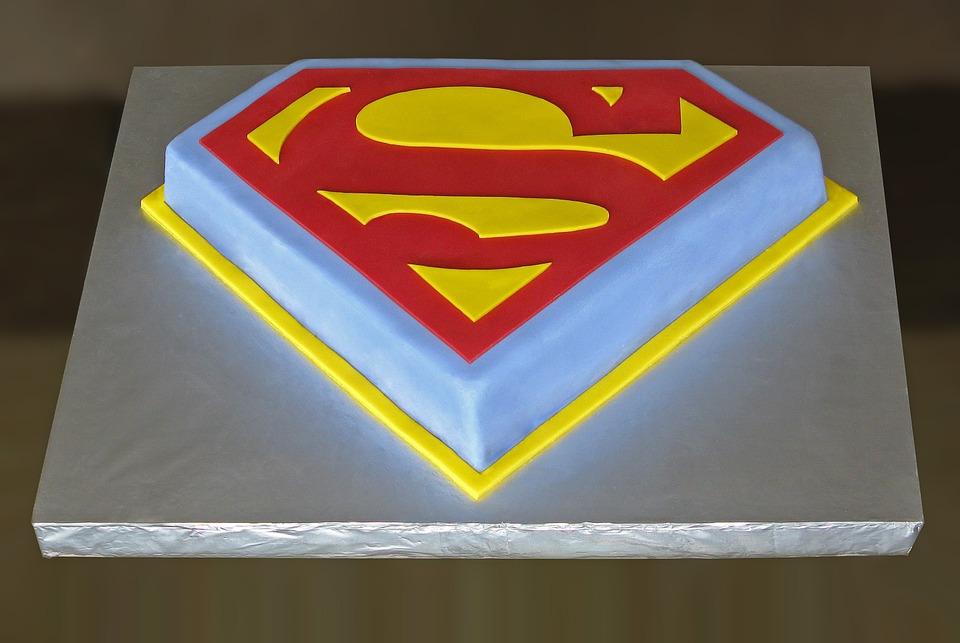 Opciones de decoración de tartas de superhéroes