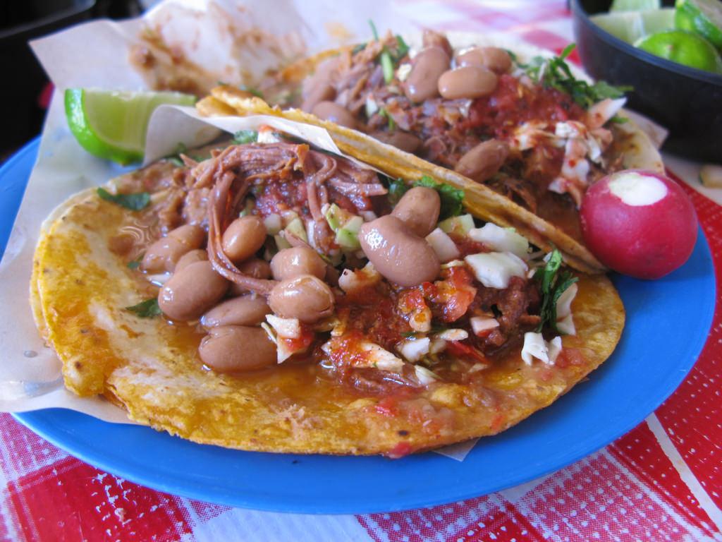 4 recetas vegetarianas para niños perfectas-tacos con frijoles
