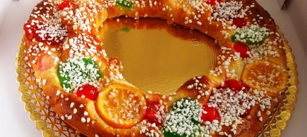 3 recetas fáciles del roscón de Reyes