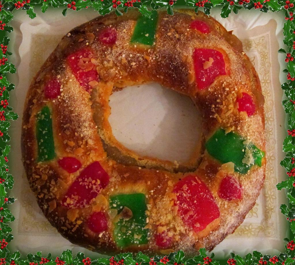 3 recetas fáciles del roscón de Reyes-roscón