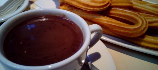 Receta sencilla de churros con chocolate