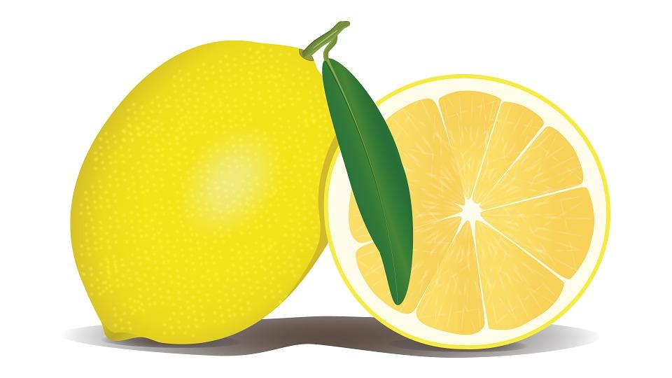 Vitaminas para niños-limon