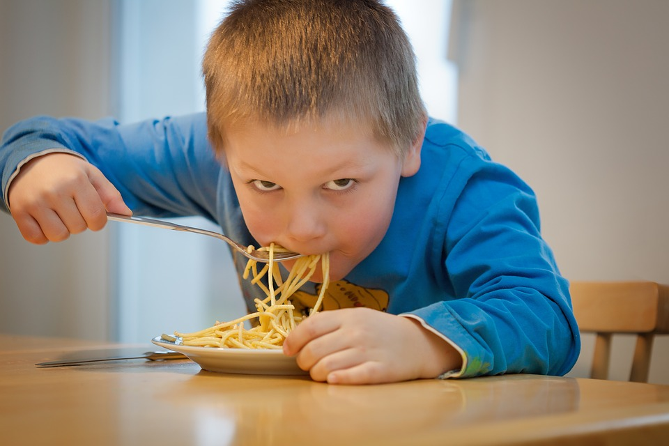 Alimentos peligrosos para niños