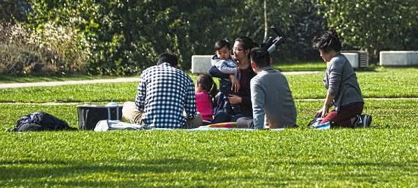 Organizar un picnic merienda para un cumpleaños infantil